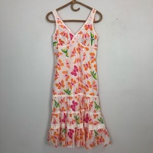 Lilly Pulitzer Triple Crown Tossed Butterfly Dress
